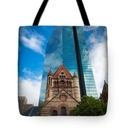 Boston Trinity Church Tote Bag