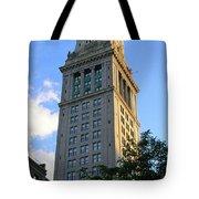 Boston Waterfront District 3527 Tote Bag