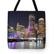 Boston Waterfront Tote Bag