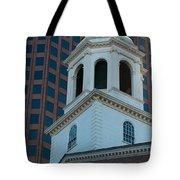 Boston's North Meeting House Tote Bag