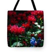 Botanic Garden Abstract Tote Bag