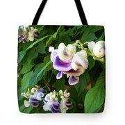 Botanic Garden Flower Tote Bag