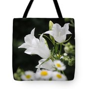 Botanical Beauty In White Tote Bag
