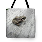 Botanical Gardens Tree Frog Tote Bag