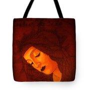 Boticelli Madonna Vignette Tote Bag