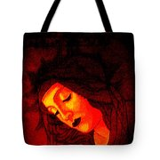 Botticelli Madonna In The Light Tote Bag