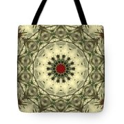 Bottle Brush Kaleidoscope Tote Bag