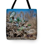 Bottle Bush Tote Bag