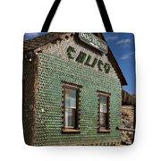 Bottle House Calico California Tote Bag