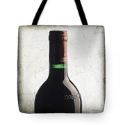 Bottle Of Bordeaux Tote Bag