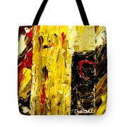 Bottle Of Wine  Tote Bag by Mark Moore