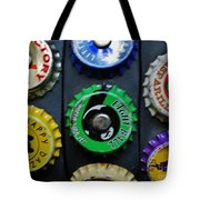 Bottle Tops Tote Bag
