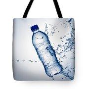Bottle Water And Splash Tote Bag