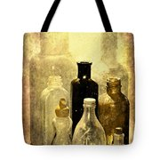 Bottles From The Past Tote Bag