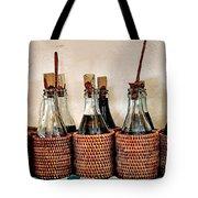 Bottles In Baskets Tote Bag