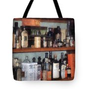 Bottles In General Store Tote Bag