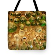 Bottles In The Wall Tote Bag