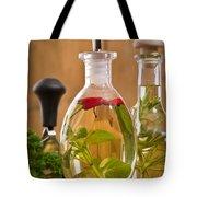 Bottles Of Olive Oil Tote Bag