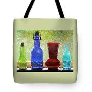 Da142 Bottles Of Time Daniel Adams Tote Bag