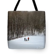 Bottom Of The Sled Hill Tote Bag