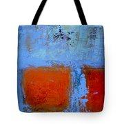 Bottom Orange Tote Bag