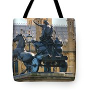 Boudicca Statue And Parliament 5805 Tote Bag