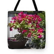 Bougainvillea Bonsai Tree Tote Bag