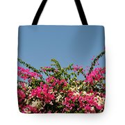 Bougainvillea Flowers Tote Bag