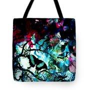 Bougainvillea Moon Tote Bag