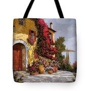 Bouganville Tote Bag