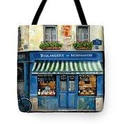 Boulangerie De Montmartre Tote Bag