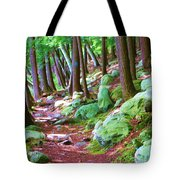 Boulder Forest Tote Bag