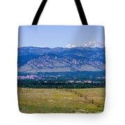Boulder In The Summertime Tote Bag