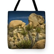 Boulders In The Joshua Tree National Park Tote Bag