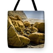 Boulders On The Beach At Torrey Pines State Beach Tote Bag