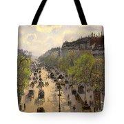 Boulevard Montmarte Tote Bag