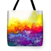 Bouncing Color Tote Bag