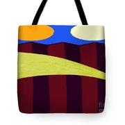 Bouncy Sunshine Tote Bag by Patrick J Murphy