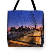 Bound For Greatness Tote Bag by Evelina Kremsdorf