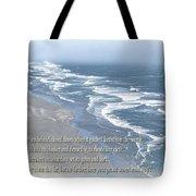Boundaries Of Beaches Tote Bag