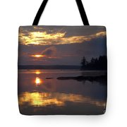 Boundary Waters Sunrise Tote Bag