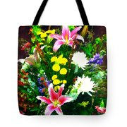 Bouquet Bounty Tote Bag