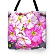 Bouquet Of Pink Tote Bag