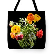 Bouquet Of Ranunculus Tote Bag