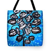 Bouquet Of White Poppies Tote Bag