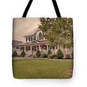 Bourbeau Custom Homes Tote Bag