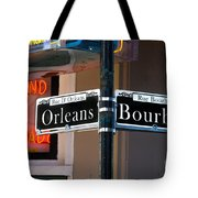 Bourbon And Orleans Tote Bag