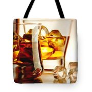 Bourbon - Large Size Painting Tote Bag