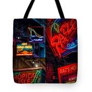 Bourbon St. Neon - Nola Tote Bag