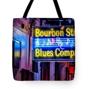 Bourbon Street Blues Tote Bag